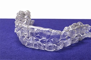 A set of clear aligners