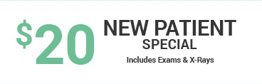 $20 new patient special coupon
